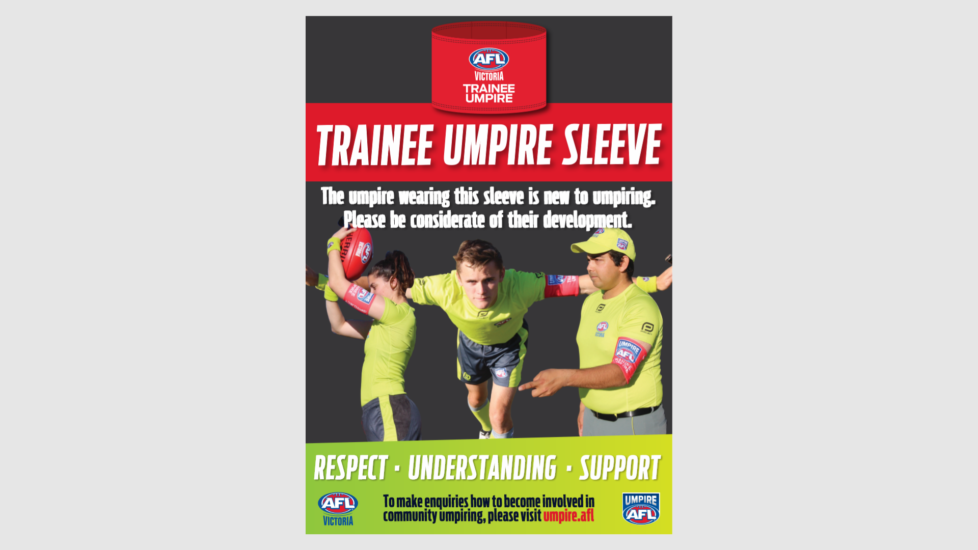 Umpire Sleeve Program